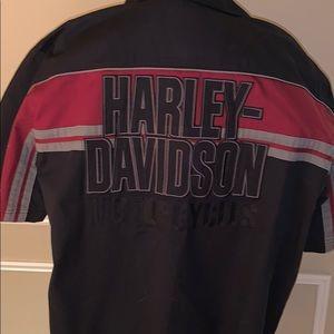 Harley-Davidson button down shirt. NWOT